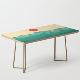 The ocean, the sea, the wave Coffee Table