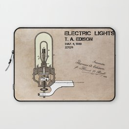 Edison electric light patent Laptop Sleeve