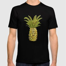 Pineapple Mens Fitted Tee Black SMALL