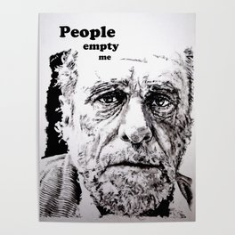 PEOPLE EMPTY ME Poster