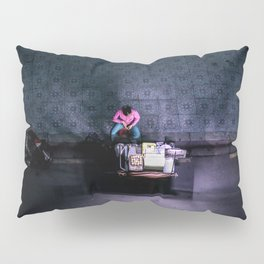 Night shot Saigon Pillow Sham