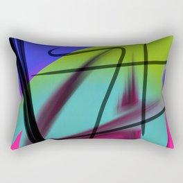 Peafowl Rectangular Pillow