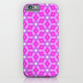 Sweet Pink Pattern iPhone Case