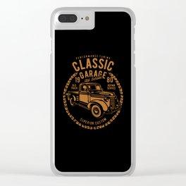 classic garage Clear iPhone Case