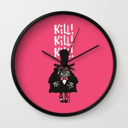 Jacky the Ripper Wall Clock