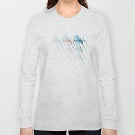 Mosquitoes. Vibrancy. Long Sleeve T-shirt