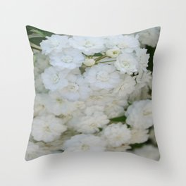 Deutzia Pure and Simple Throw Pillow