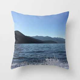 Ocean Calm IV Throw Pillow