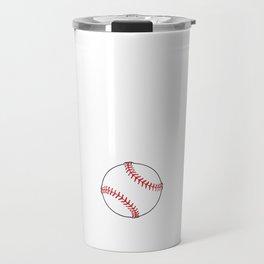 Can't Deflate This Baseball Sports Tough T-Shirt Travel Mug
