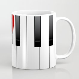 Love Piano Coffee Mug