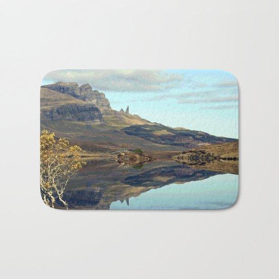 Travelling in Scotland No. 2 Bath Mat