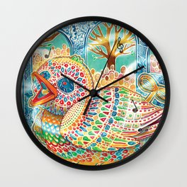 The Nightingale Series - 5 of 8 Wall Clock