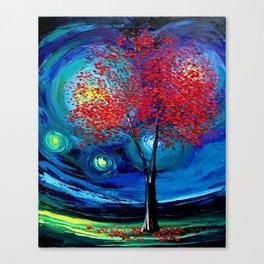 Story of the Tree Act XLI Canvas Print