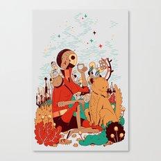 Overgrowth Explorer Canvas Print