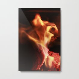 Dancing Flame Metal Print