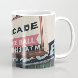 this way to the arcade ...  Coffee Mug