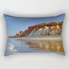 Falesia cliffs in the early morning Rectangular Pillow