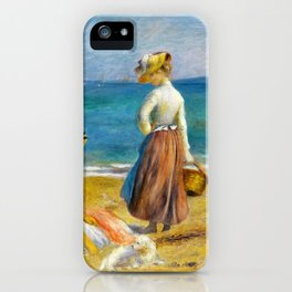 Figures On The Beach - Digital Remastered Edition iPhone Case