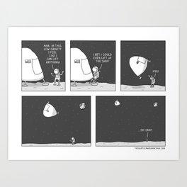 Low Gravity Art Print