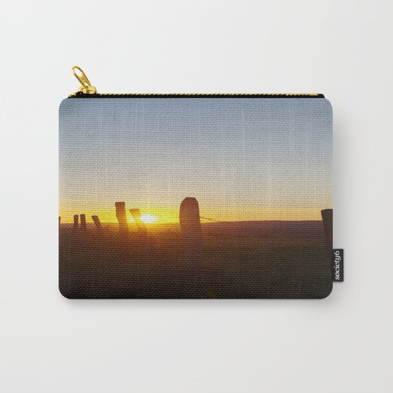Walk in the evening Carry-All Pouch