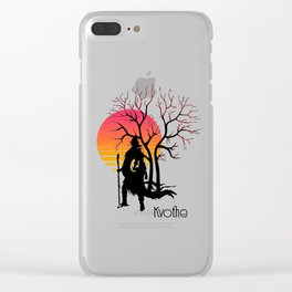 Kvothe.The name of the wind. Clear iPhone Case