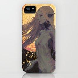 Queen of peace iPhone Case