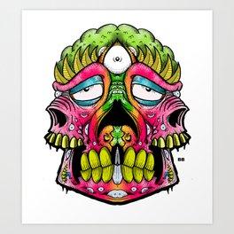 pinky stinky Art Print