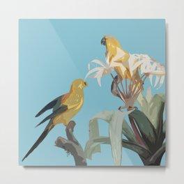 Birds in Paradise Metal Print
