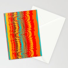 Groovy Red Stationery Cards