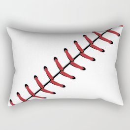 Baseball Lace line Rectangular Pillow