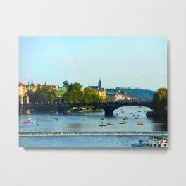 Vltava   Prague Metal Print