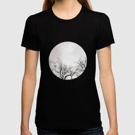 Black branches T-shirt