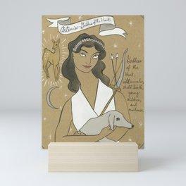 Artemis - Greek Goddess Mini Art Print