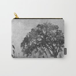 The Tree Watercolor (Black and White) Carry-All Pouch