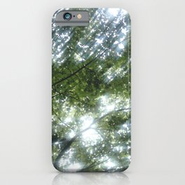 Nature and Greenery 12 iPhone Case