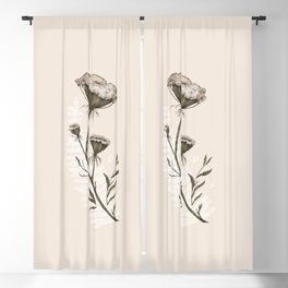 Queen Anne's Lace Blackout Curtain