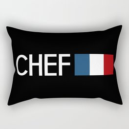 Chef (French Flag) Rectangular Pillow