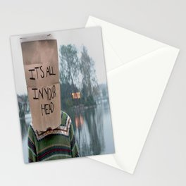 It's All in Your Head Stationery Cards