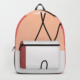 Geometrical Minimal Art 10 #geometrical #boho Backpack