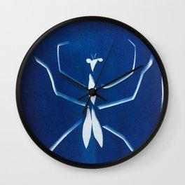 Cyano-mantis Wall Clock