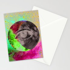 I'll be looking at the moon... and I'll be seeing you Stationery Cards