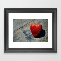 All Of My Heart Framed Art Print