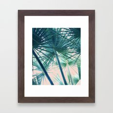 Tropical Palm #society6 #buyart #home #lifestyle Framed Art Print