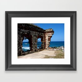 Aguadilla Ruins Framed Art Print