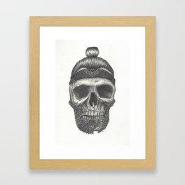 Broken Beard Framed Art Print