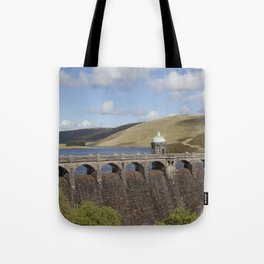 Craig Goch Dam Tote Bag