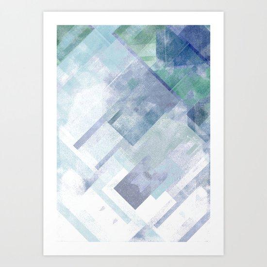 Pixel. Art Print