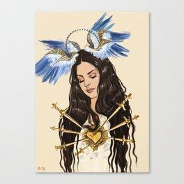 """The seven sorrows of Lana"" Canvas Print"