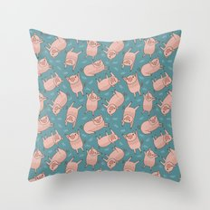 Pattern Project #52 / Piglets Throw Pillow
