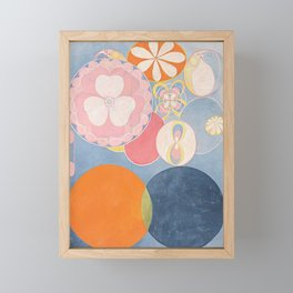 The Ten Biggest No 2 By Hilma Af Klint Framed Mini Art Print